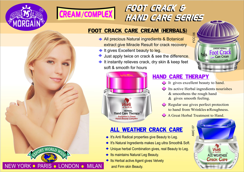 Foot Crack and Hand Care Series